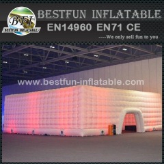 LED changing lights bubble inflatable tent for party
