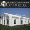 Durable fire resistant lighting inflatable party tent for wedding
