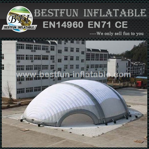 Large trade show inflatable tent