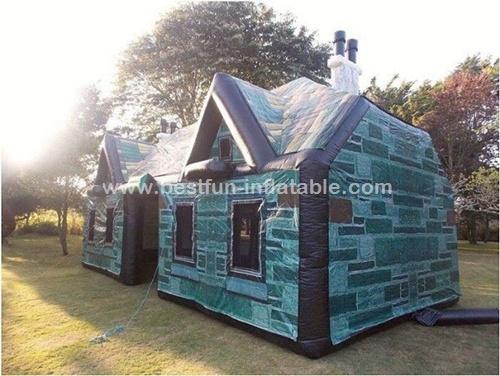 En14960 customized inflatable bar tent