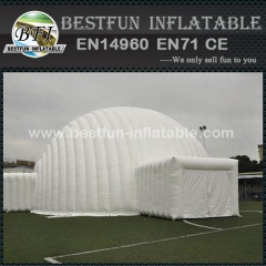 Advertising waterproof pvc inflatable igloo tent