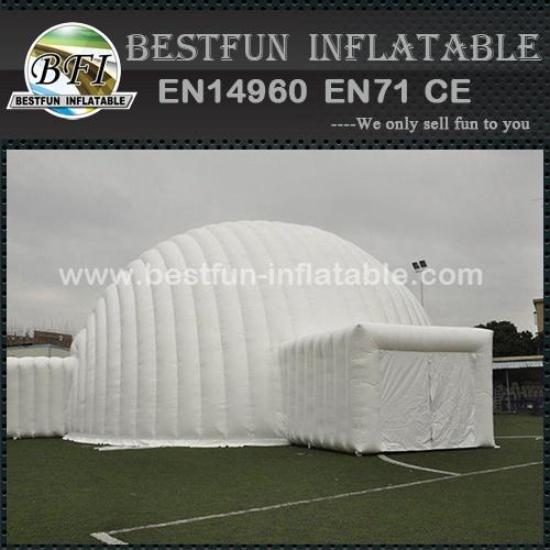 Advertising waterproof pvc inflatable igloo tent