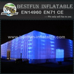 Large commercial LED inflatable tent