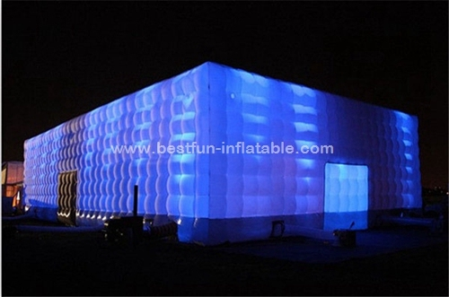 High quality inflatable cube tent for promotion