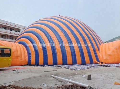High temperature resistance dome inflatable tent