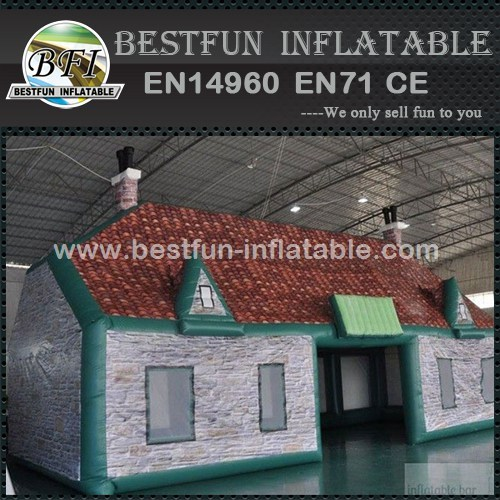New design portable inflatable house bar tent
