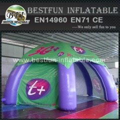 Outdoor event spider tent inflatable car tent