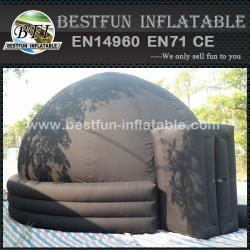 Portable planetarium dome astronomical inflatable tent