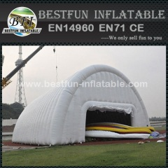 Igloo tent with inflatable mattress inflatable cabin tent