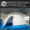 Semi transparent inflatable bubble tent