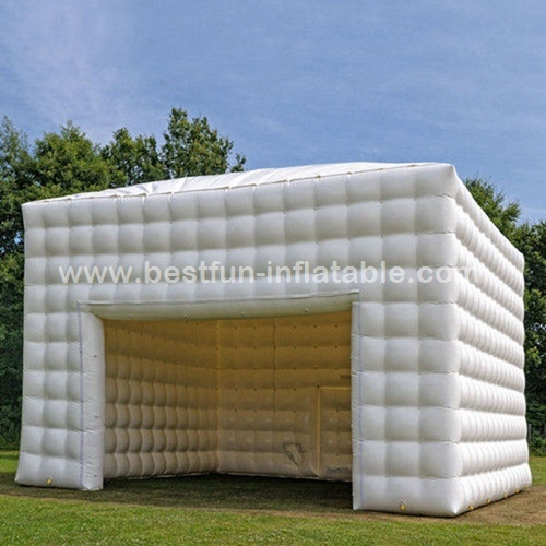 Small portable inflatable cube marquee tent for trade show