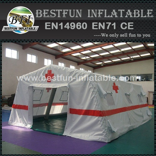 0.65mm pvc inflatable emergency tent