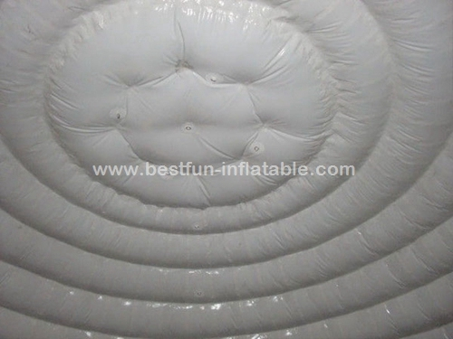 Uutside airtight printed camping inflatable tent with uv resistance