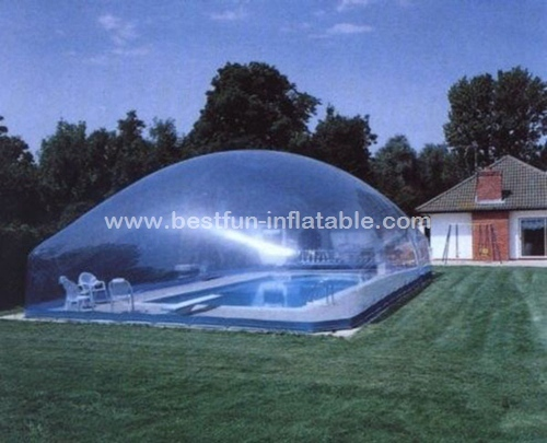 Water proof air dome for swimming pool