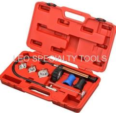 7pcs Cooling System Leakage Diagnosis Pressure Tester Kit