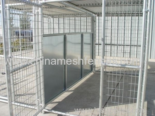 Dog Kennels And Shelters : Ftx ft multiple dog kennels with roof shelters from