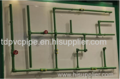 ppr cold and hot water pipe