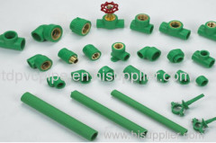 PPR Fittings from manufacturer