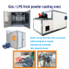 Gas/LPG fired powder curing oven