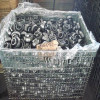 Collapsible pallet box wire container