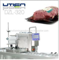 Excellent low price chicken meat thermoforming vacuum packing machine