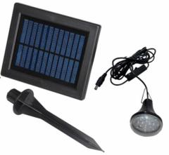 Solar LED Light Li-ion 3.7V 1200mAh 6V 1W Poly