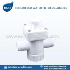 válvula de reducción de presión de agua