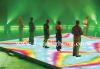 led flash dance floor
