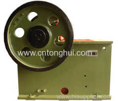jaw crusher for stone crushing