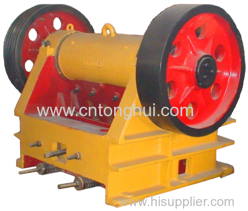 jaw crusher qualified with ce & iso certificates