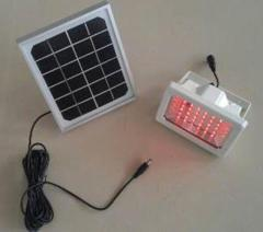 RGB Led Flood Light with Solar Panel 6V 3W MONO Day night sensor