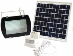PIR Motion Sensor 180LED Floodlight with Solar Panel 16V 5W IP65