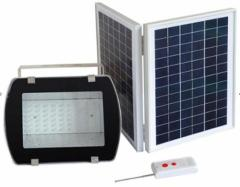 108LED Floodlight. with Solar Panel 16V 20W IP65 Remote Control