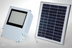 DC 9V 108 LED Flood light with Solar Panel 16V 10W 5m with DC connector