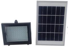 60SMD DC 3V 1.5W LED Flood light with Solar Panel 6V 5W