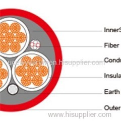 (N)TSCGEWOEU Medium-Voltage Fixed Installation Cable With Fiber Optics