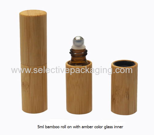 natural bamboo roll on