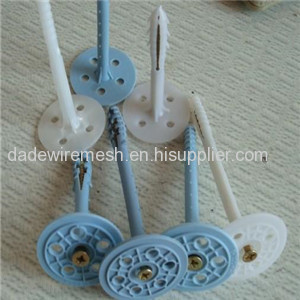 Expansion Insulation Wall Fastener with Plastic Nail from China