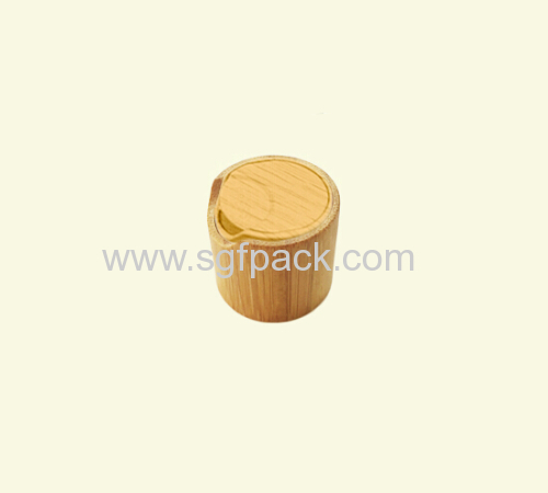 WATER TRANSFER CAP NATURAL WOODEN BAMBOO COLOR