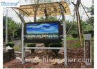 Waterproof Window OS 65 Inch LCD Digital Signage 3000 nits for Outdoor Public Display