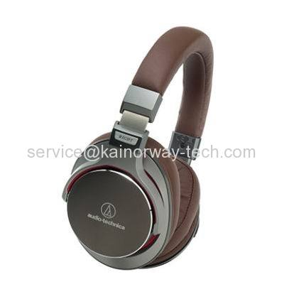 New Audio-Technica ATH-MSR7 Over-the-Ear Dynamic Portable Headphones Gun Metallic