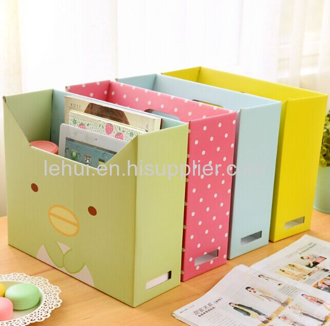 folding file boxes corrugated paper box printed paper gift packaging