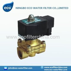 brass pneumatic solenoid valve