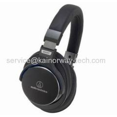 Audio-Technica ATH-MSR7 Portable Hi-Res Audio Headphones Black With Noise Cancellation