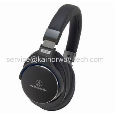 New Audio Technica ATH-MSR7 BK SonicPro Over-Ear High-Resolution Headsets With Mic