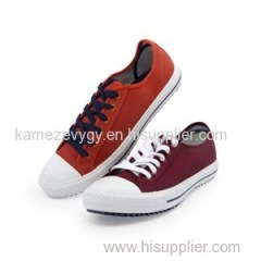 Outdoor Denim Canvas Lace-Up Casual Shoes