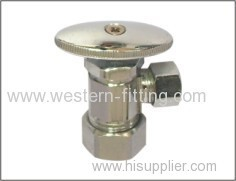 Angle Valve Brass Forged Construction