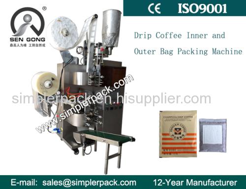 Drip Bag Packing Machine for Cubita(Cuba DUEBA) Coffee C19II