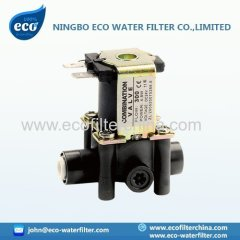 purificateur d'eau de l'électrovanne