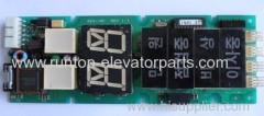 Sigma elevator parts indicator PCB SEG-101